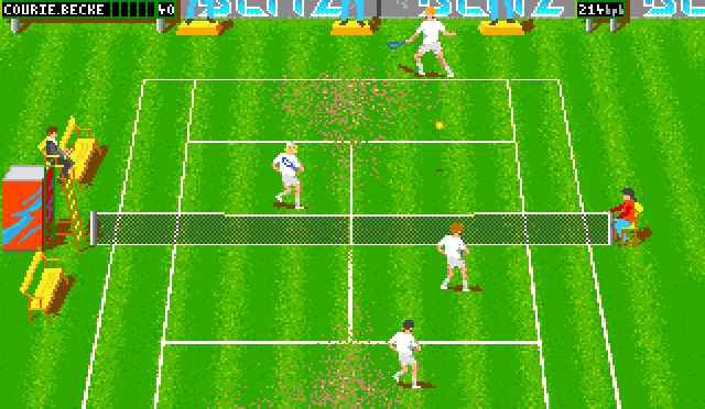 Andre Agassi Tennis/Center Court Tennis 97 (Guildhall) (1997)