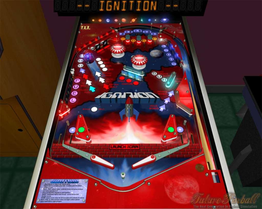 Pinball dreams digital illusions 21st century 1992 de for Pinball de mesa