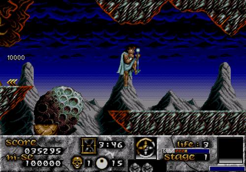 Versión SEGA Mega Drive